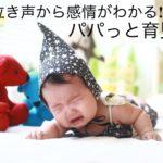 泣き声で赤ちゃんの感情を読み取るアプリ「パパっと育児@赤ちゃん手帳」を使ってみた!!